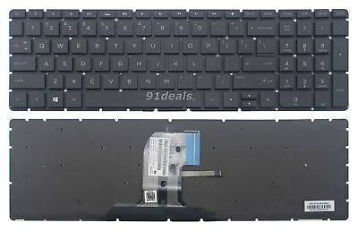 Keyboard US Laptop For HP Pavilion 15-ay016cy 15-ay513tu 15t-ay000 15-ay137cl