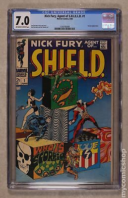 Nick Fury Agent of SHIELD (1968 1st Series) #1 CGC 7.0 1350193009