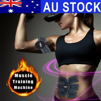 AU Abdonminal Arm Toning Belt Smarty ABS Muscle Stimulator Ultimate Body New
