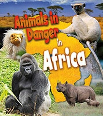 Animals in Danger in Africa (Paperback), Spilsbury, Richard, Spil. 9781406262124