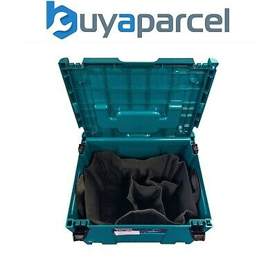 Makita MAKPAC Router Case with Canvas Inlay - Suits DRT50Z RTC0700C