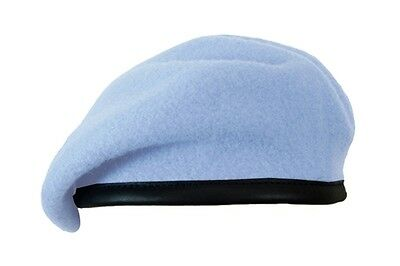 922716cd 100% Wool BRITISH BERET - All Sizes Army AIR CORPS BLUE Military Army Cap  Hat