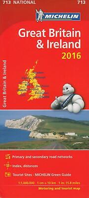Great Britain & Ireland 2016 National Map 713 (Michelin Road Atlases & Maps)