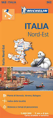 Italy North East Map (Michelin Road Atlases & Maps)
