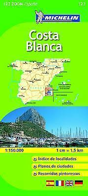 Costa Blanca (Michelin Travel Maps)