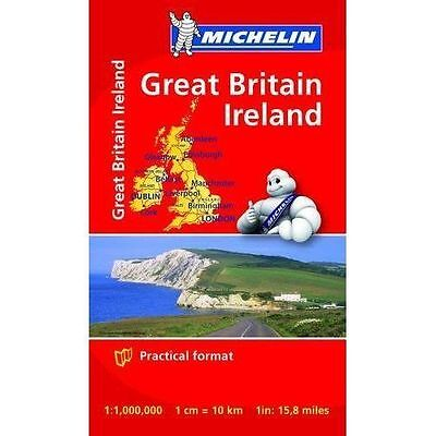 Great Britain and Ireland Mini Map (Michelin Road Atlases & Maps)