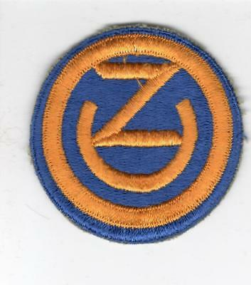 WW 2 US Army 102nd Infantry Division Patch Inv# B678