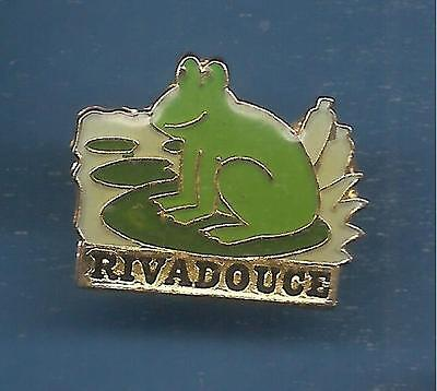 Pin's pin GRENOUILLE FROG RIVADOUCE (ref 071)