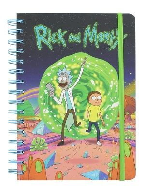 Rick and Morty A5 Notebook
