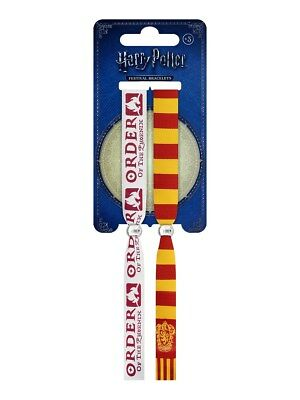 Harry Potter Gryffindor Festival Wristbands