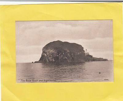 BASS ROCK  &  LIGHTHOUSE          EAST  LOTHIAN   ( 42d )