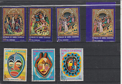 Republic Guinea Ecuator Lot Am 2363
