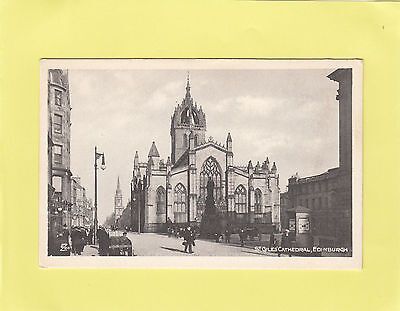 *    ST  GILES  CATHEDRAL    *    EDINBURGH   Midlothiian   SCOTLAND  (T48)