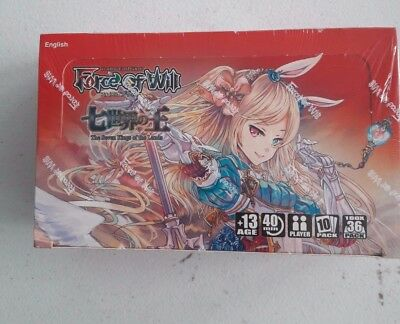 Force Of Will Tcg The Seven Kings Of The Lands Box Sealed Nib