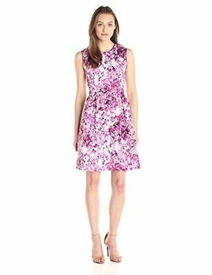 Lark & Ro Women's Early Blossom Fit And Flare Dress Asst Sizes New With Tags
