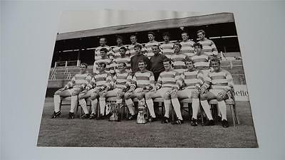 Queens Park Rangers Fc 1967-68 Squad With The 1967 League Cup Rare Press Photo