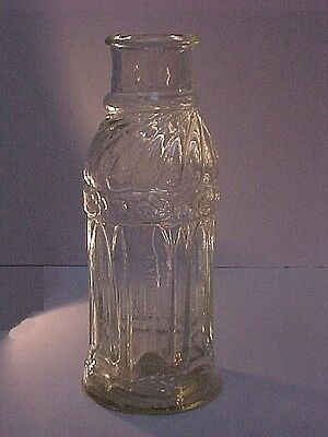 1842 Baltimore MD Pickle Bottle Rare  Wm Bodman 3-Mold Pontil Fancy