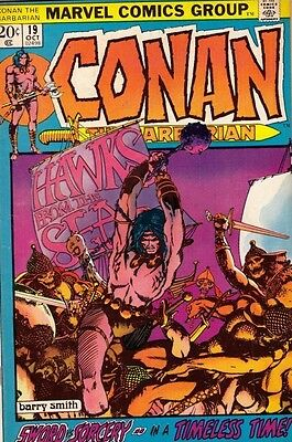 Conan the Barbarian 19 strict 1972 VF/NM 9.0 Barry Smith Art Ton O Conans Listed
