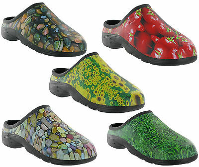 Out Door Gardening Clog Waterproof Back Garden Shoes Mens Womens Unisex