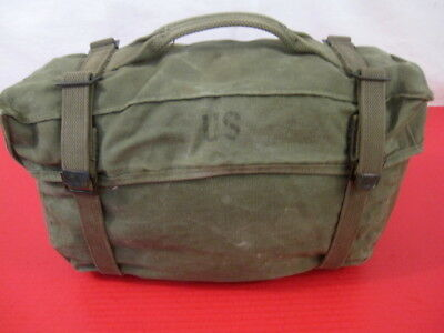 post-WWII US Army OD Green M1945 Lower Cargo Combat  Pack - Dated 1951 - NICE #3