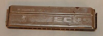 Vintage M Hohner Echo Made In Germany Harmonica