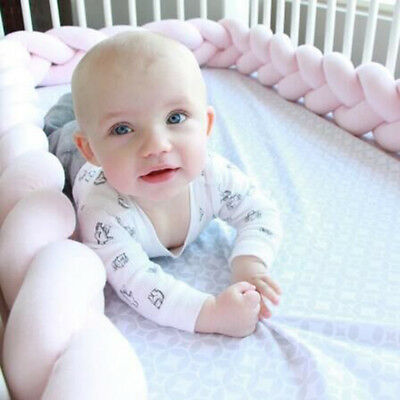 Baby Infants Home Soft Bedding Bumper Collision Creeping Guardrail Bed Protector