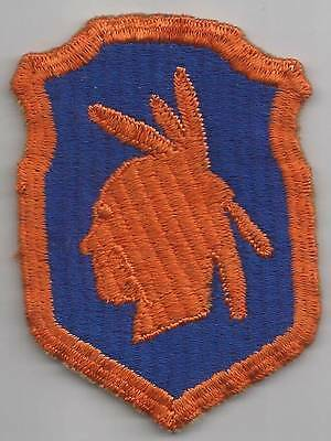 Off Uniform WW 2 US Army 98th Infantry Division Ribbed Weaved Patch Inv# 9P075