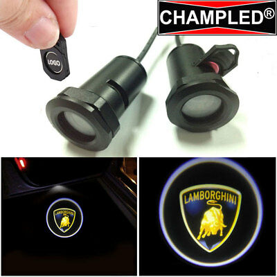 Champled Welcome Led Projector Logo Shadow Car Lights Emblem