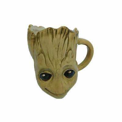 Guardians Of The Galaxy Baby Groot 3D Mug Ceramic Cup Drax Awesome Mix Head