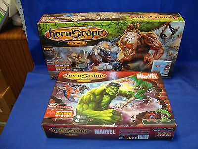 heroscape SWARM OF THE MARRO & Marvel The Conflict Begins - New In Box SEALED