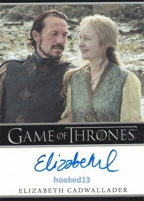 Game Of Thrones Season 6 Elizabeth Cadwalladfer Autograph Lollys Stokeworth Card