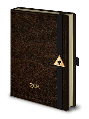 A5 Premium Notizbuch LEGEND OF ZELDA - Hyrule Map Lederlook ca15x21cm NEU & OVP
