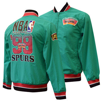 77fe17a7214 SAN ANTONIO SPURS Mitchell   Ness Team History Warm Up Jacket L ...