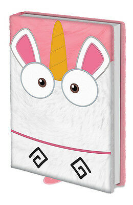 A5 Premium Notizbuch DESPICABLE ME - It´s So Fluffy Plüsch ca15x21cm NEU & OVP