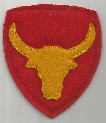 Theater Made WW 2 US Army 12th Infantry Division Off Uniform Patch Inv# F738