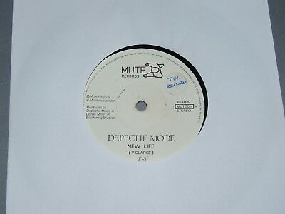 "Depeche Mode ""New Life"" 7"" Vinyl 1981"