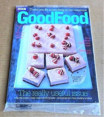 Bbc Good Food Magazine September 2013 (Special Subscriber Cover) New/unopened
