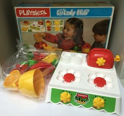 Cuisinette Lil'Lady Hob Cooking Set (dinette enfant) - Playskool 1983 - Neuf