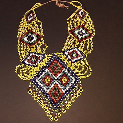 BellyDance ATS Costume Beaded NECKLACE Kuchi Tribe 811b10