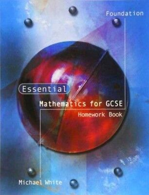 Essential Maths for GCSE: Foundation Homework (Paperback), White,...