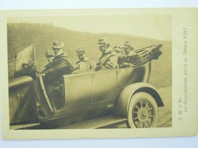 Advertising-Automobile-Car-Fiat-Turin-Royalty-Savoia-O5G-S34978