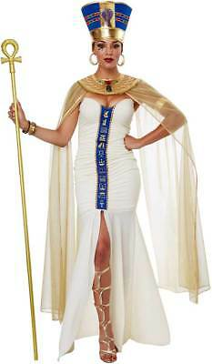 Queen Of Egypt Ruler Cleopatra Dress Drapes Egyptian Costume Attire Adult Women