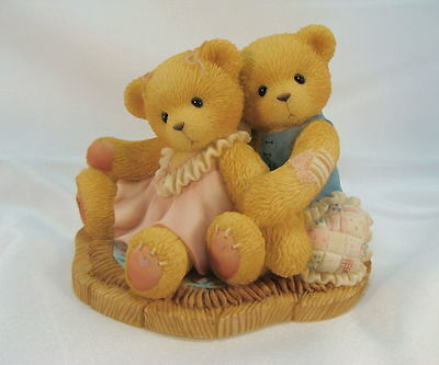 Cherished Teddies  ~  RUTH & GENE ... Heart To Heart  *  NEW From Our Shop
