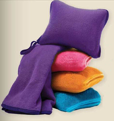 new snooze nap travel blanket pillow set great for air car train