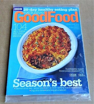 Bbc Good Food Magazine February 2014 (Exclusive Subscriber Cover) New/unopened