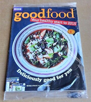 Bbc Good Food Magazine January 2015 (Exclusive Subscriber Cover) New/unopened