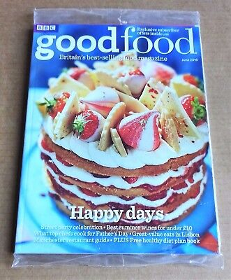 Bbc Good Food Magazine June 2016 (Exclusive Subscriber Cover) New/unopened