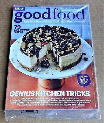 Bbc Good Food Magazine September 2016 (Exclusive Subscriber Cover) New/unopened