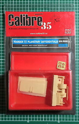 Calibre35 Calibre 35 35004 - Marder Iii Planetary Differentials 1/35 Resin Kit