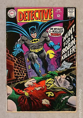 Detective Comics (1937 1st Series) #374 GD/VG 3.0